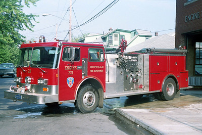 BUFFALO FD  ENGINE 23  1985 PIRSCH   1250-500