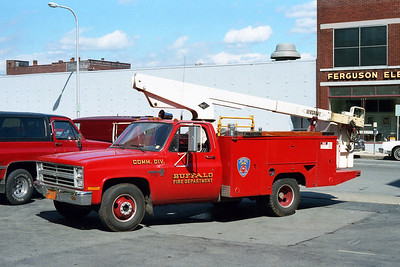 BUFFALO FD  COMMUNICATIONS  F-137  1979  CHEVY - MURRAY
