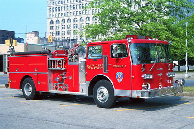 BUFFALO FD  ENGINE 1  1984  DUPLEX - GRUMMAN   1250-500    OFFICERS SIDE