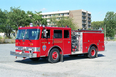 BUFFALO FD  ENGINE 21  1987  PIERCE ARROW   1250-500
