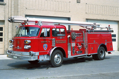 BUFFALO FD  ENGINE  13 1979 ALF CENTURY   1250-500-55' SQRT   ACROSS THE RAMP