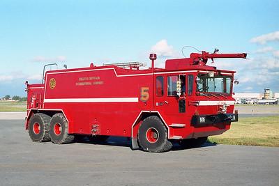 GREATER BUFFALO NIAGRA AIRPORT  CFR 5  1980  OSHKOSH T-3000   1500-3000-180F   OFFICER SIDE