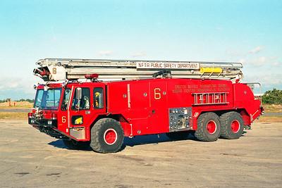 GREATER BUFFALO NIAGRA AIRPORT  CFR 6  1980  E-ONE TITAN   1500-3000-180F-55' TSQT