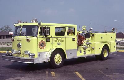 XENIA FD OH  ENGINE 1321  1972  SEAGRAVE   1250-400   LEO PHOTO