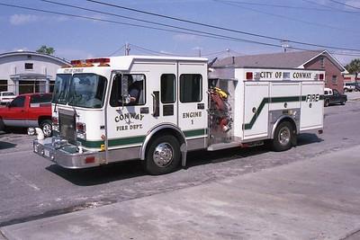 Conway SC - Engine 511 - 1998 Spartan Gladiator-Saulsbury 2000-800 #297013