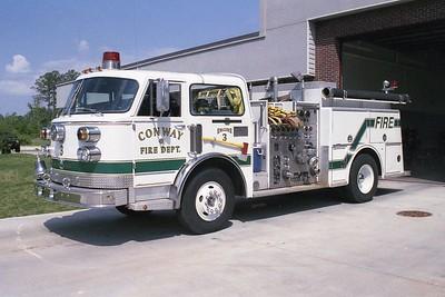 Conway SC - Engine 521 - 1985-1998 ALF Century 1250-750