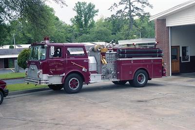 Conway SC - Engine 4 - 1974 Mack CF 1000-750