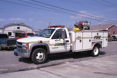 Conway SC - Squad 517 - 1996 Chevy-Mickey 125-250