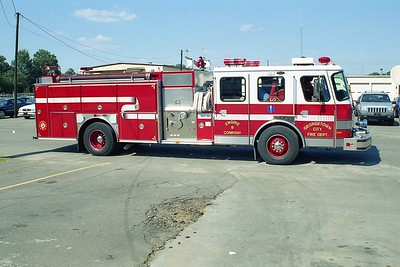 Georgetown SC - Engine 9 - 1996 E One 1500-1000