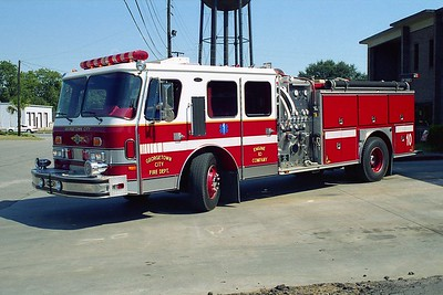 Georgetown SC - Engine 10 - 1990 E One 1500-1000
