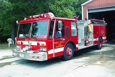 Horry County SC -  Engine 71 - 1986 E One Hurricane 1250-750 #4715