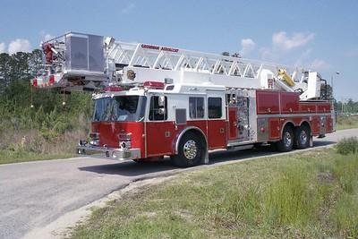 Horry County SC -  Ladder 234 - 1990 Grumman 1500-150 102' Twr #18282