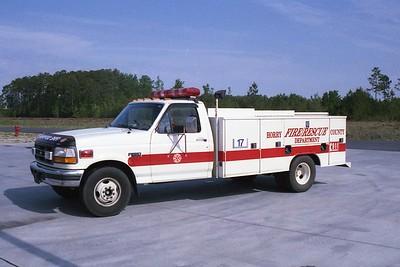 Horry County SC - Squad 17 - 1995 Ford F 350-Rawson
