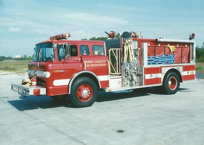 Horry County SC -  Engine 12 - 1990 Ford C 8000-E One 1250-1000 #8138