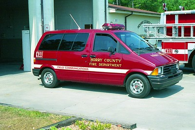 Horry County SC -  Command Van - 19xx Ford