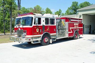 Midway SC - Engine 7 - 1995 KME 1500-750-50F