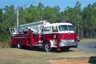 Midway SC - Ladder - 1969 Mack C85 75' Twr C85FAP-1433