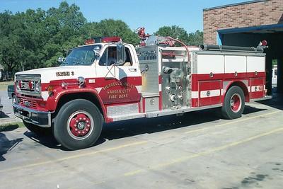 Murrells Inlet - Garden City SC - Engine 3 - 1987 Chevy-E One 1500-1000