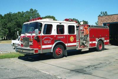 Murrells Inlet - Garden City SC - Engine 5 - 1992 E One 1500-1000
