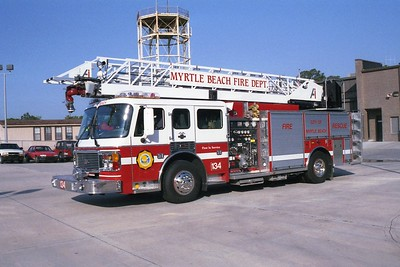 Myrtle Beach SC - Ladder 134 - 1999 Eagle-3 D-AI 1500-500 75' Rmt #956006 #2930