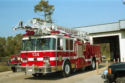 Myrtle Beach SC - Ladder 134 - 19xx Spartan-LTI - No Specs 75' Rmt