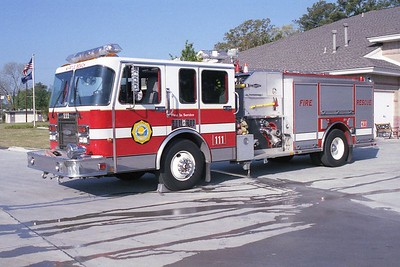 Myrtle Beach SC - Engine 111 - 1993 Spartan Gladiator-Quality 1500-500-30F (1)
