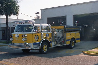 Myrtle Beach SC - Engine 113 - 1982 Century 1500-500 CE-7564