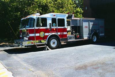 Myrtle Beach SC - Engine 121 - 1995 Spartan-Saulsbury 1500-500-30F