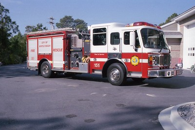 Myrtle Beach SC - Engine 151 - 1999 Eagle 1500-500-30F