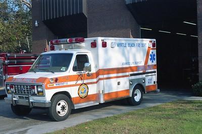 Myrtle Beach SC - Medic 122 - 19xx Ford E 350 Unk
