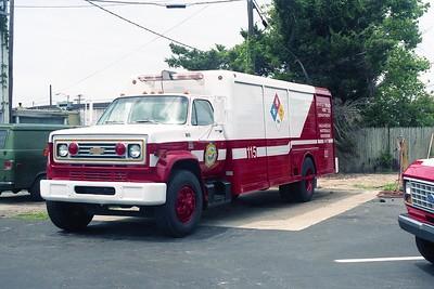 Myrtle Beach SC - Haz Mat 115 - 19xx Chevy C 65-Hackney