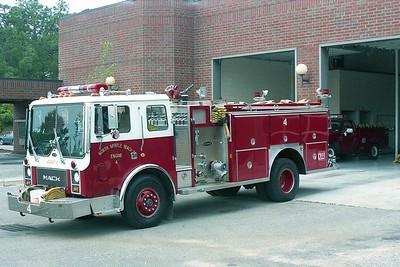 North Myrtle Beach SC - Engine 4 - 1984 Mack MC-E One 1500-1000