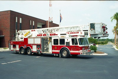 North Myrtle Beach SC - Tower 1 - 1995 KME 2000-150 102' Twr