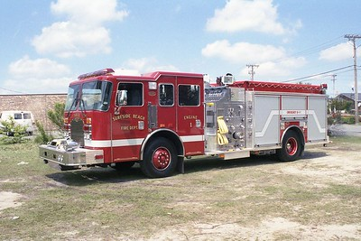 Surfside Beach SC - Engine 1 - 2000 KME Renegade 1500-750 GSO-4246