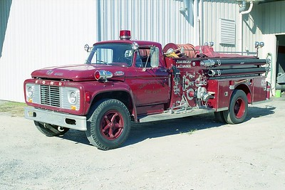 Surfside Beach SC - Engine 1 - 1964 Ford F-ALF 750-500