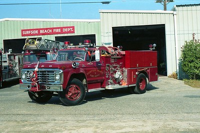 Surfside Beach SC - Engine 3 - 1974 Ford-ALF 1000-750