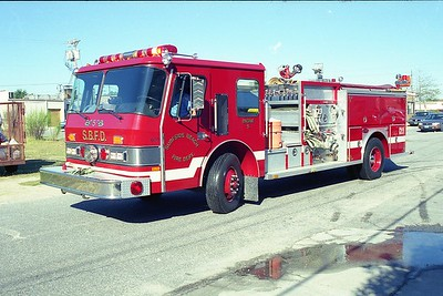 Surfside Beach SC - Engine 5 - 1988 E One Hurricane 1500-750-30F