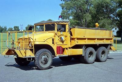 PIERRE FD  TANKER 2  1952  GMC 6X6 - BUDD   150-1250     X- MILITARY 6X6