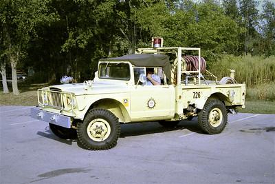NASHVILLE FD  BRUSH 26  1971  KAISER JEEP 4X4 - FD BUILT   125-200