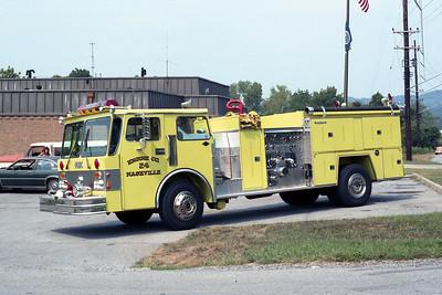 NASHVILLE FD  ENGINE 24  1982  SPARTAN - FMC   1500-750