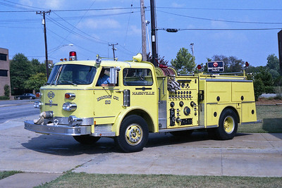NASHVILLE FD  ENGINE 20  1977  ALF CENTURY   1500-500