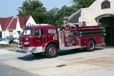 NASHVILLE FD  ENGINE 13  1973  ALF 1000   1250-500