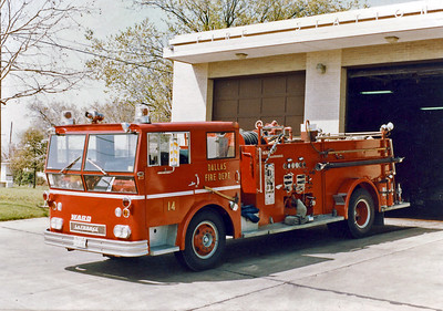 DALLAS  ENGINE 14  WLF
