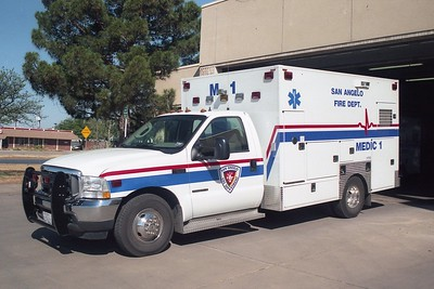 San Angelo TX Medic 1A