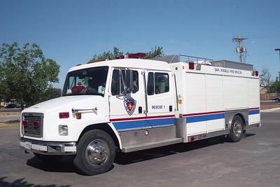 San Angelo TX Rescue 1A