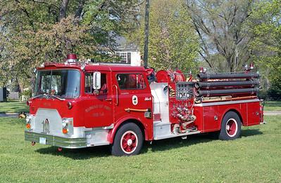 RICHMOND BUREAU OF FIRE  ENGINE 14  1976  MACK CF   1250-500