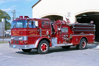 RICHMOND BUREAU OF FIRE  ENGINE 21  1967  OREN   1000-500