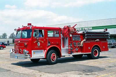 RICHMOND BUREAU OF FIRE  ENGINE 10  1986  MAXIM F   1250-500