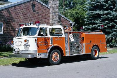 WHEELING FD  WV  ENGINE 10  1978  ALF CENTURY   1500-500