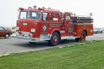KENOSHA FD WI  ENGINE 6  PIRSCH   85